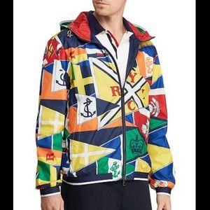 Polo Ralph Lauren $650 retail windbreaker jacket